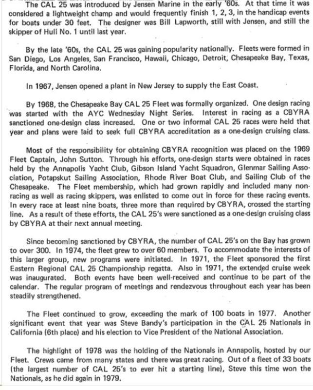 Chespeake Bay - History